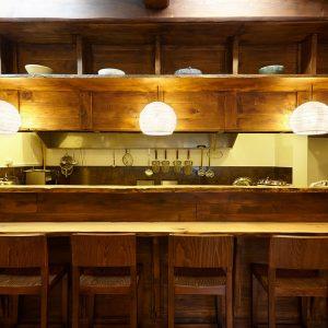Restaurant Yuki, intérieur.