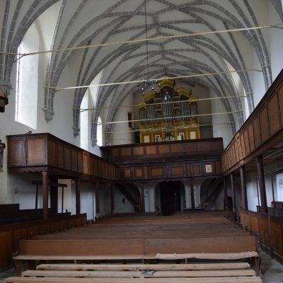 Fortified church of Saschiz village.