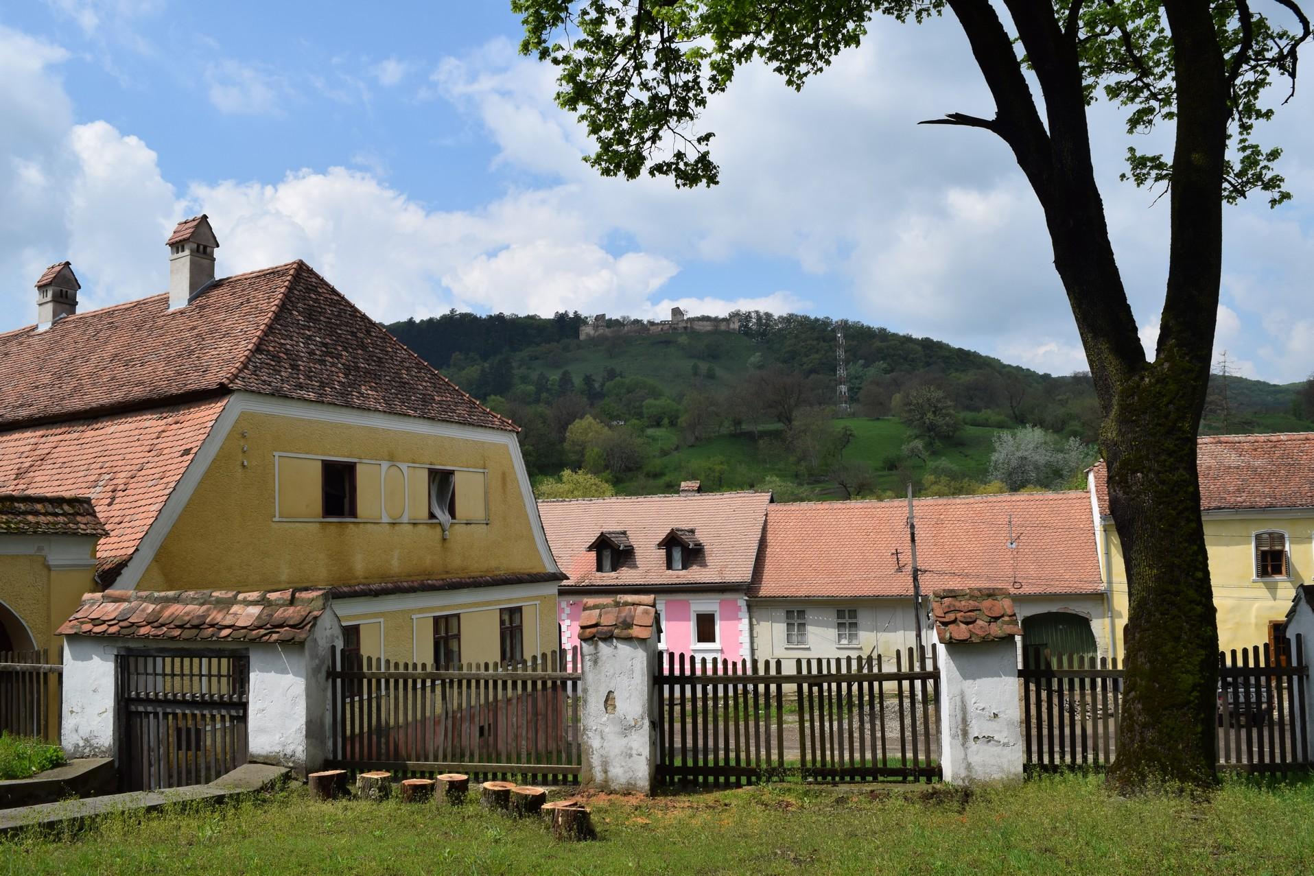 Saschiz village