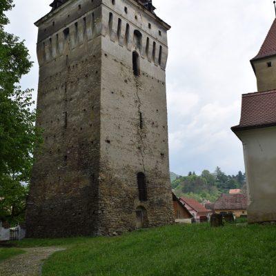 Bell tower of Saschiz village.