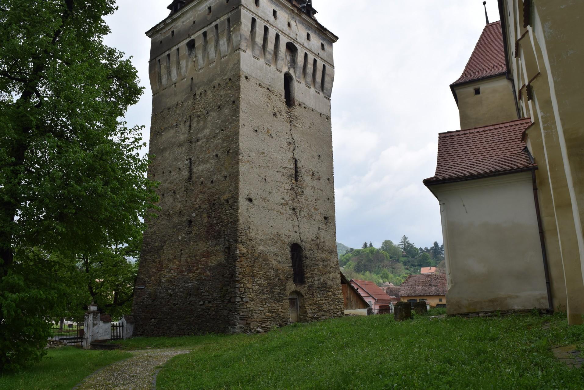Saschiz village church