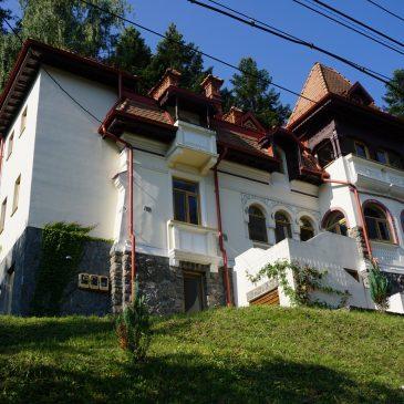 La Villa Arizto, un hébergement historique à Sinaia, dans la Vallée de Prahova