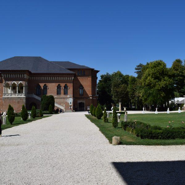 La cour interieur du palais de Mogosoaia.