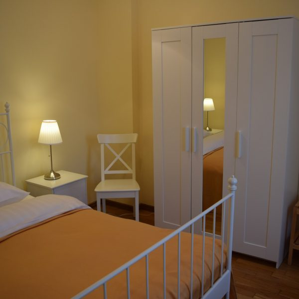 Villa Arizto, sa chambre.