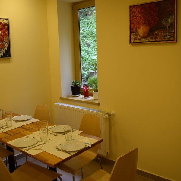 Arizto Villa, dining-room.