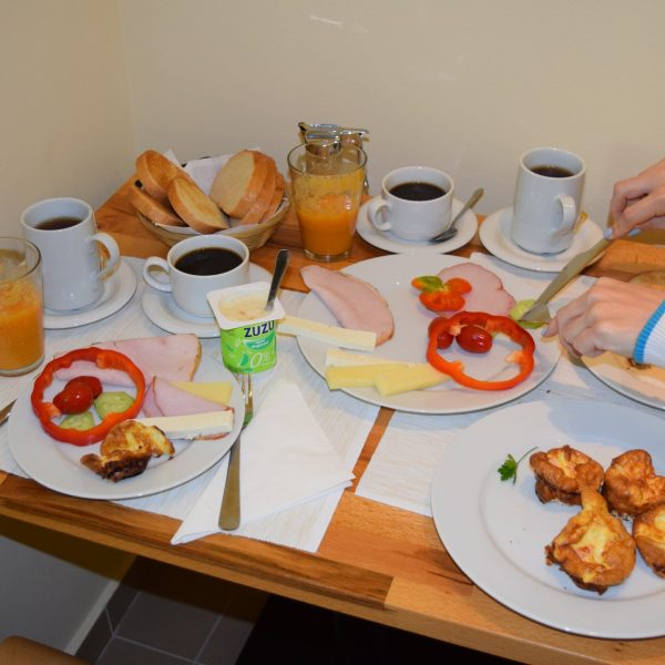 Villa Arizto, petit dejeuner.
