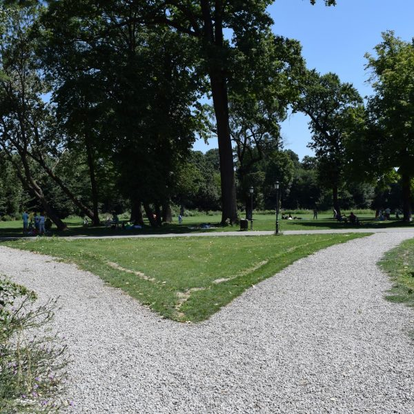 Le parc de Mogosoaia.