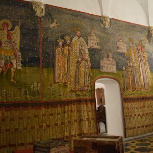 L'interieur du Palais de Mogosoaia.