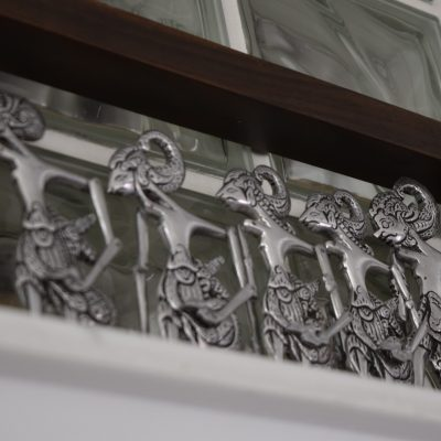 The Villa Surya, decorative elements.