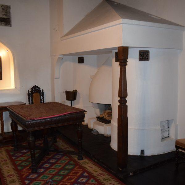 Le chateau de Bran, une de ses chambres.