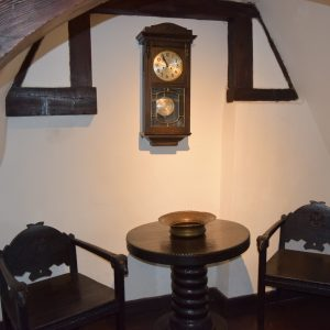 The Bran castle, one of its rooms.