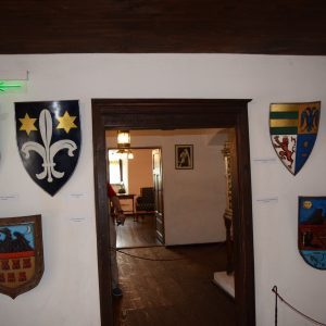 The Bran castle, its weapons room.