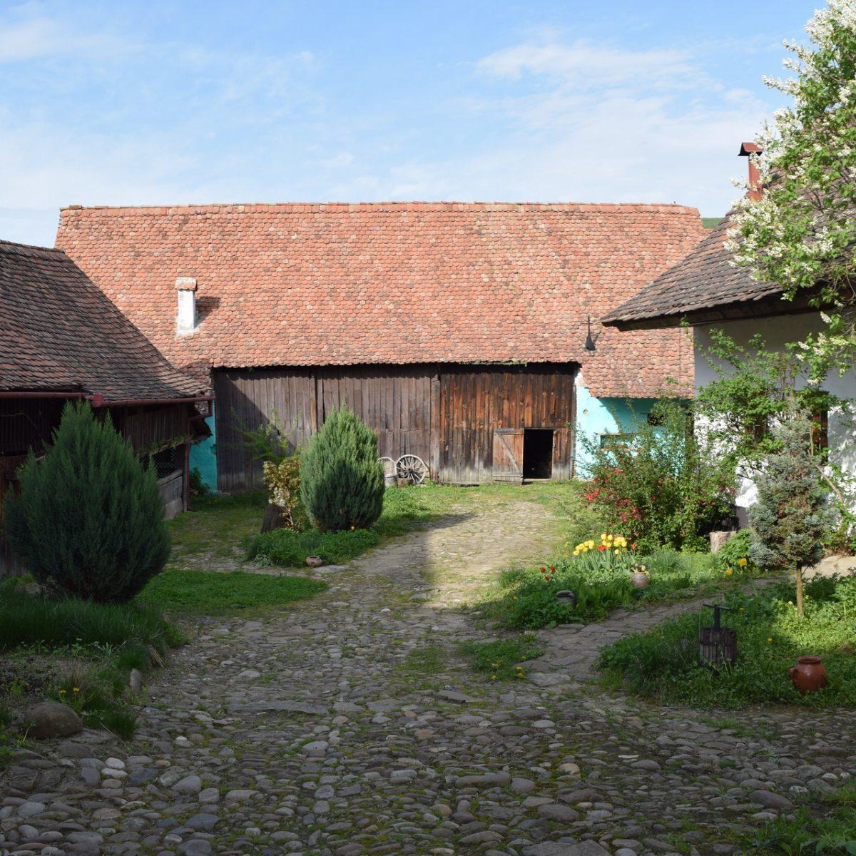 Casa cu Zorele, first farm.