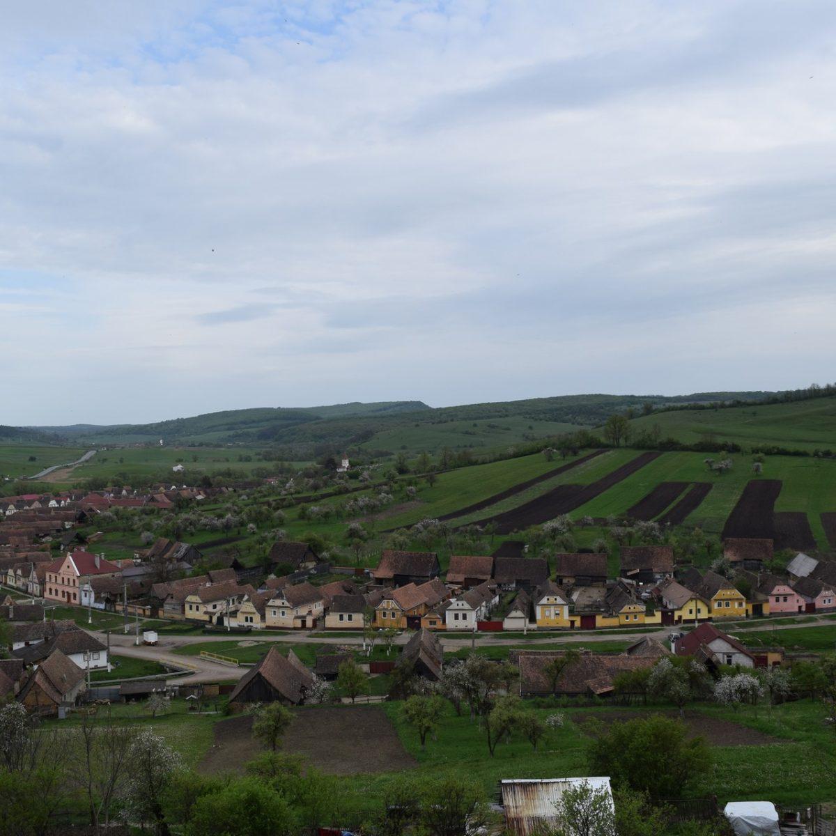 Crit, the village where Casa cu Zorele takes place.
