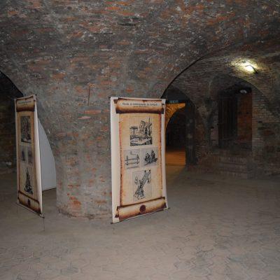 Voyage en Roumanie, la salle des tortures de la citadelle de Fagaras.