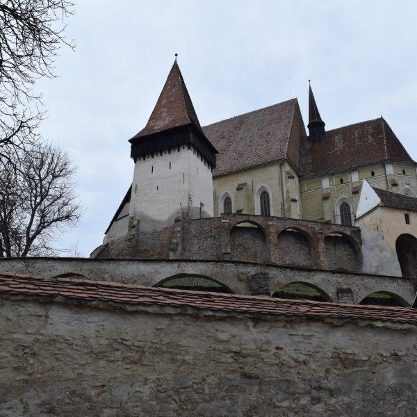 Voyage en Roumanie, église fortifiée de Biertan.