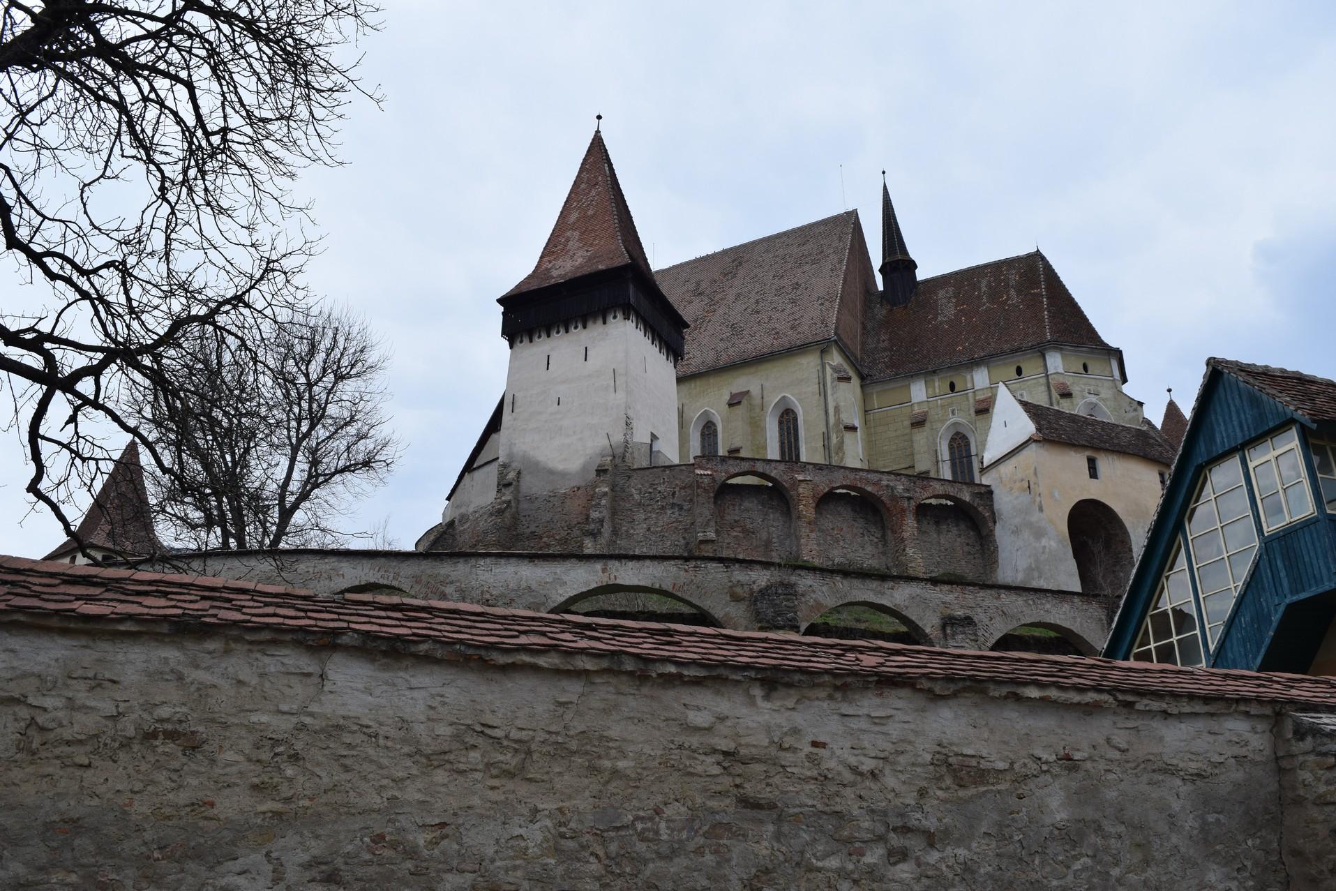 Voyage en Roumanie Eglises fortifiees