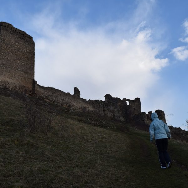 Voyage en Roumanie : Citadelle de Trascau Coltesti