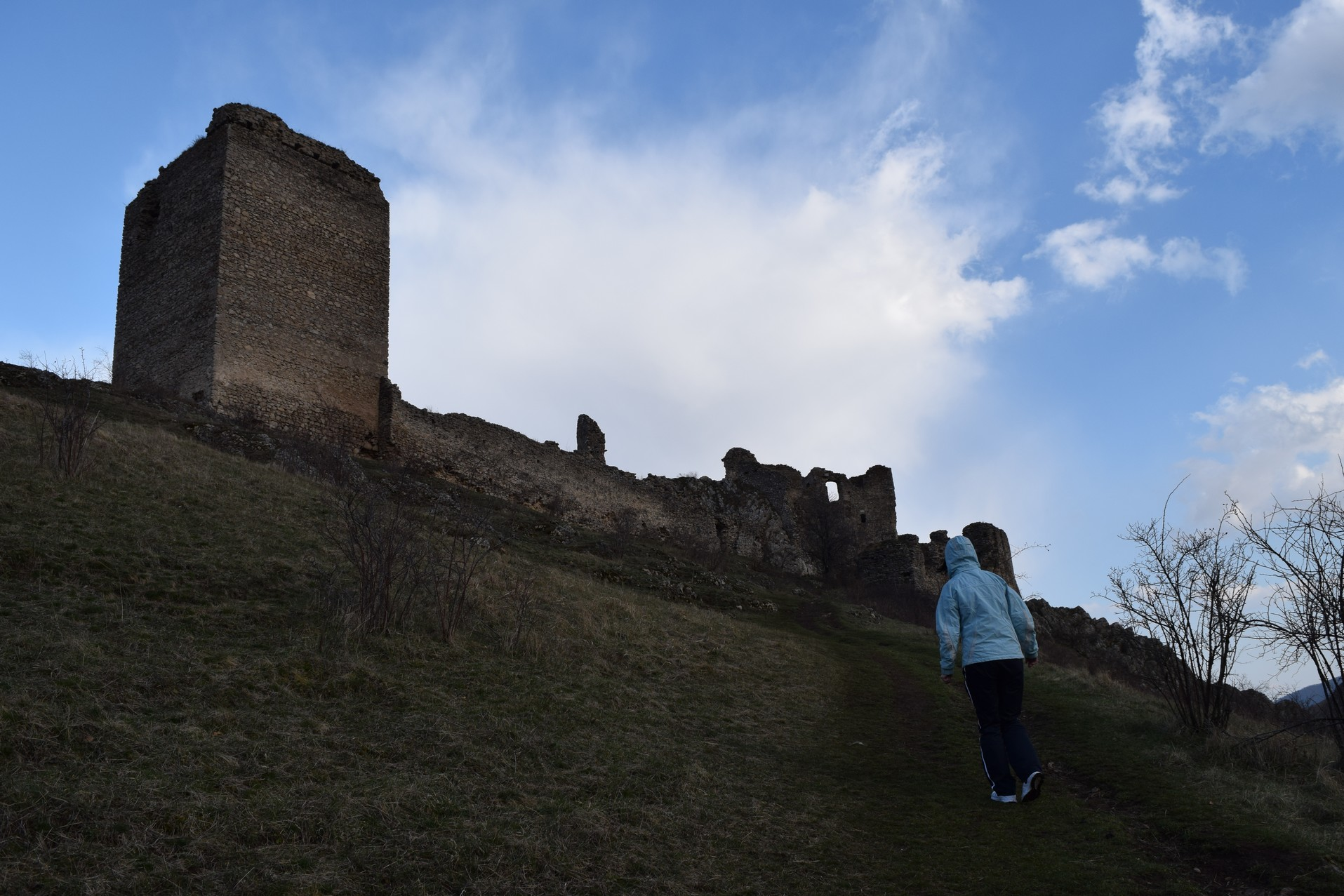 Voyage en Roumanie Citadelle Trascau Coltesti