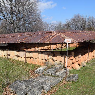 Voyage en Roumanie : Cite Dace de Cetatuie