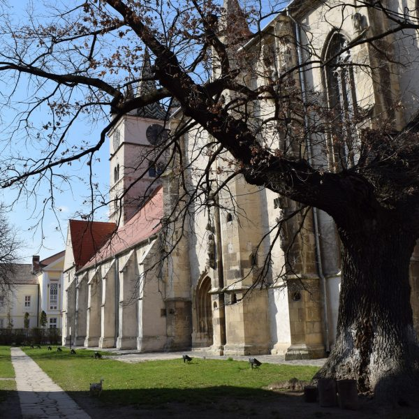 Voyage en Roumanie : Eglise fortifiee de Sebes