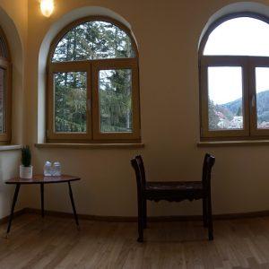 Villa Arizto, la vue provenant de l'appartement.