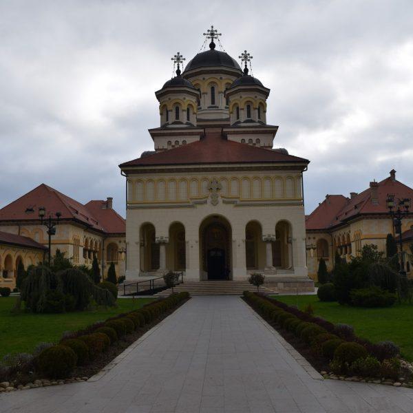 Voyage en Roumanie : Eglise orthodoxe de Alba Iulia
