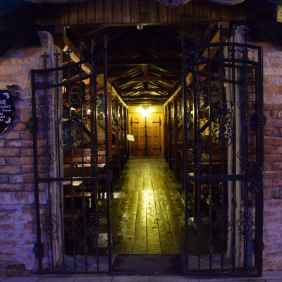 Voyage en Roumanie : Pub 13 a Alba Iulia