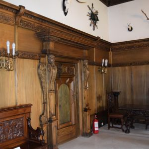 Cotroceni palace. Hunt room.