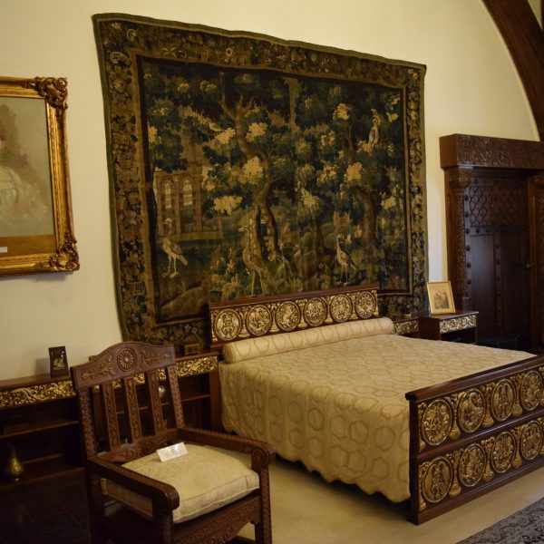Cotroceni palace. The room of Queen Marie.