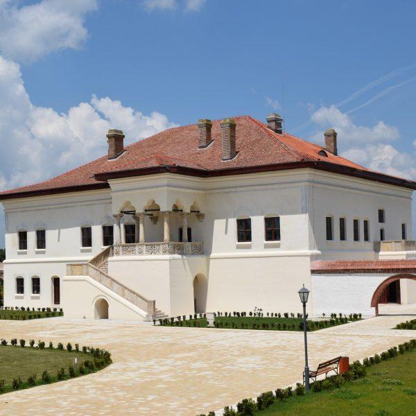 Le palais de Potlogi.