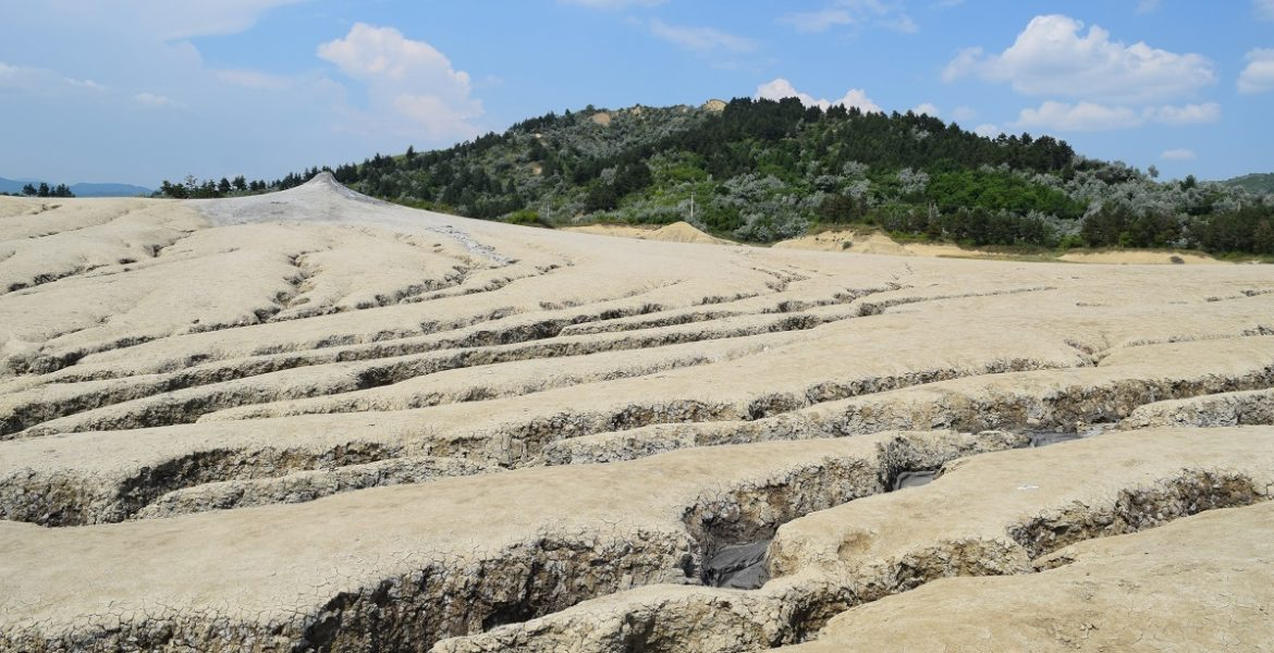 Mud volcanoes of Berca