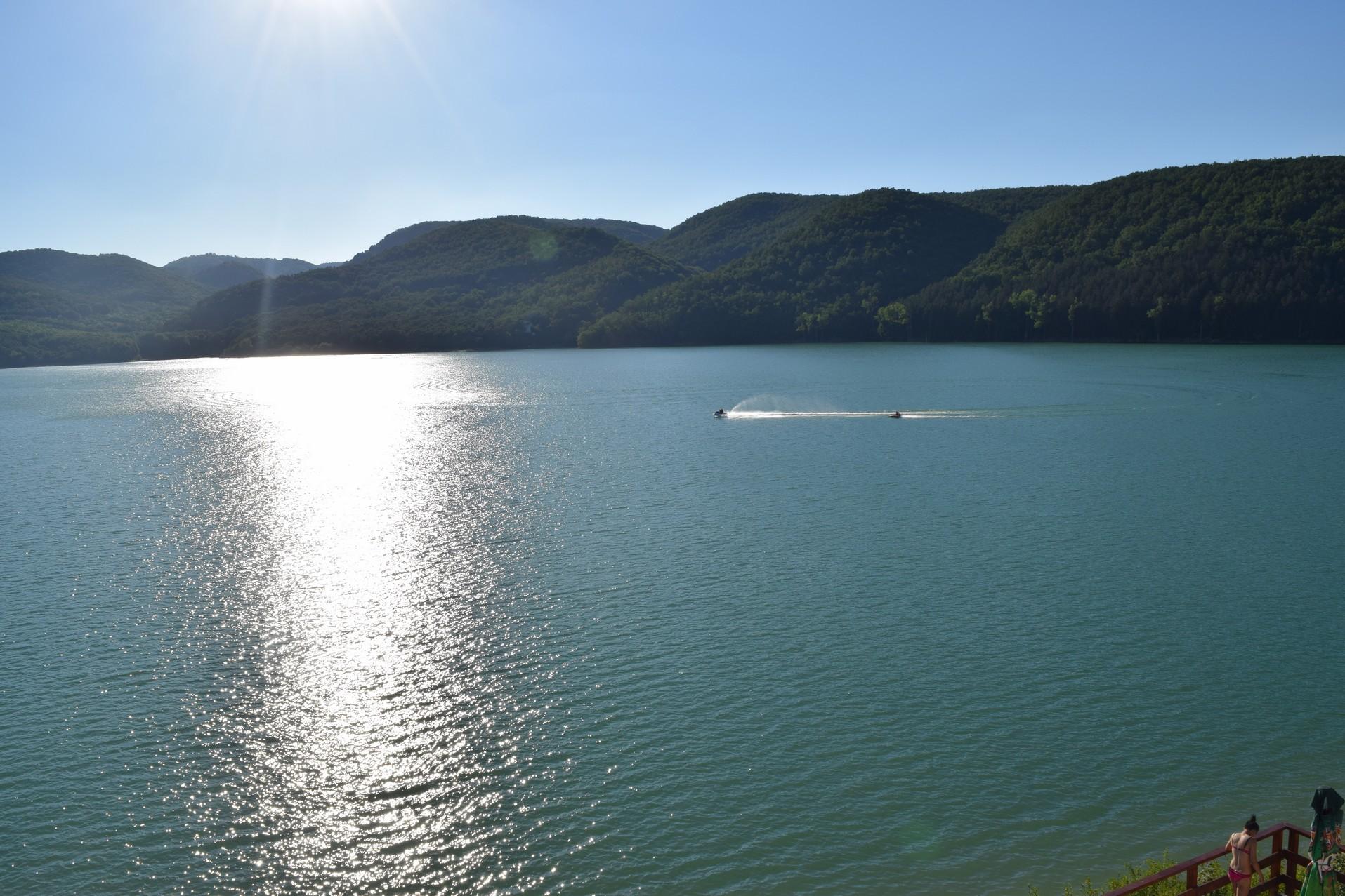 Lacs en Roumanie cincis