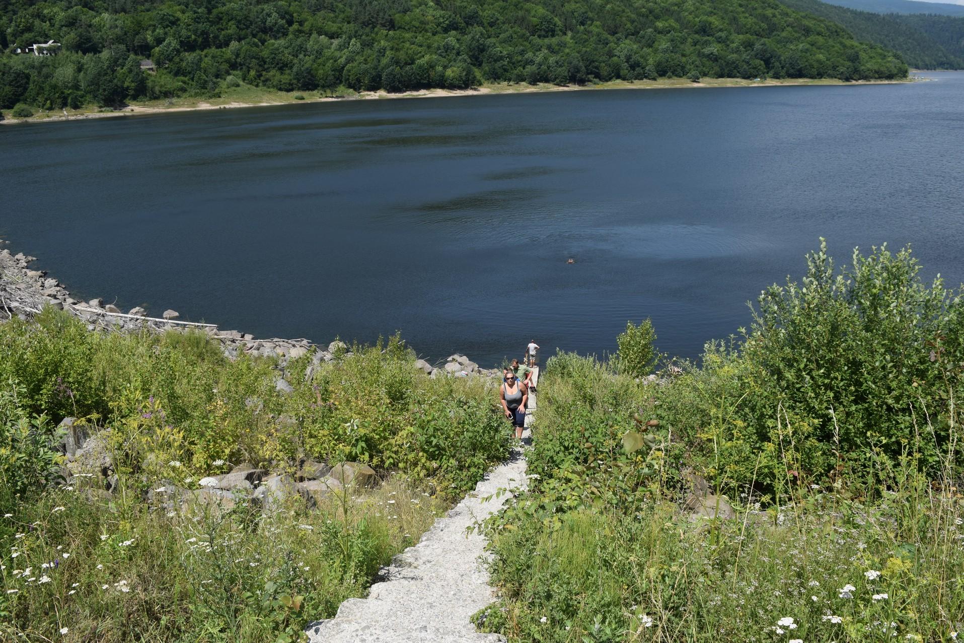 Lacs en Roumanie zetea