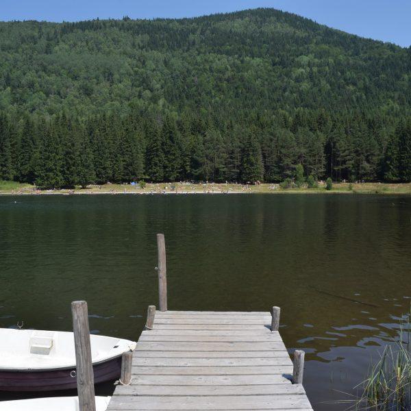 Selection de lacs, voici Saint Anne.