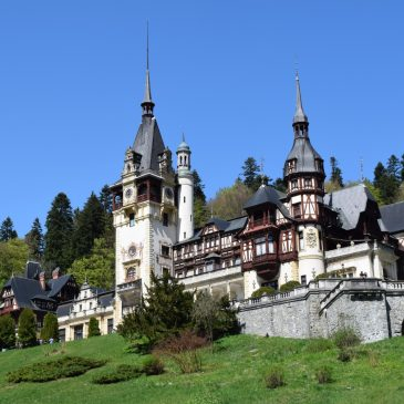 Le Château Peles, immanquable de la Roumanie, à Sinaia