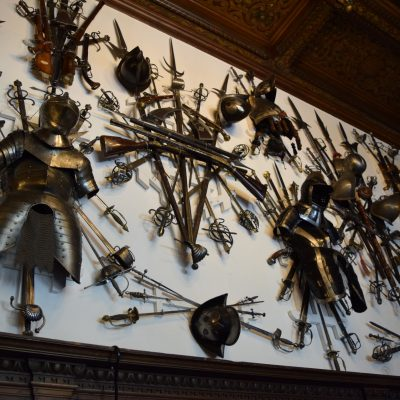 The armory of  Peles castle.
