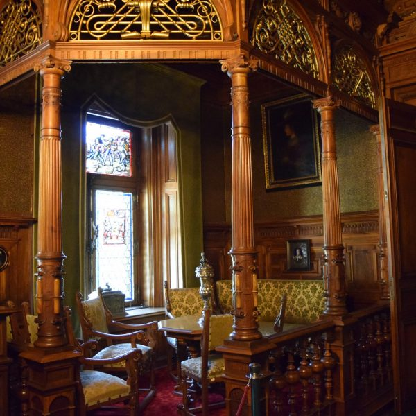 The king office of Peles castle.