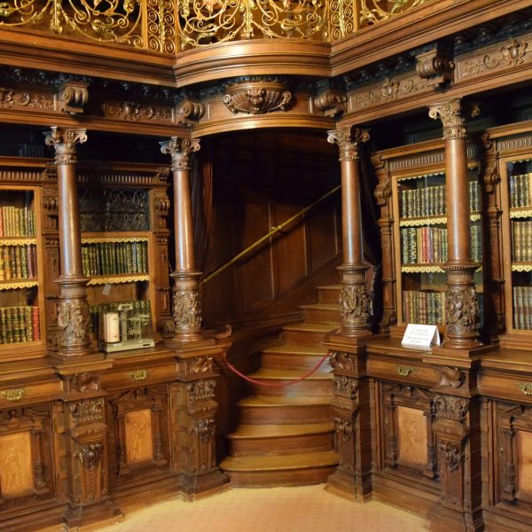 The king library of Peles castle.