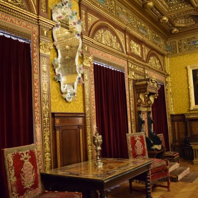 "The ""Florentina"" room of Peles Castle."