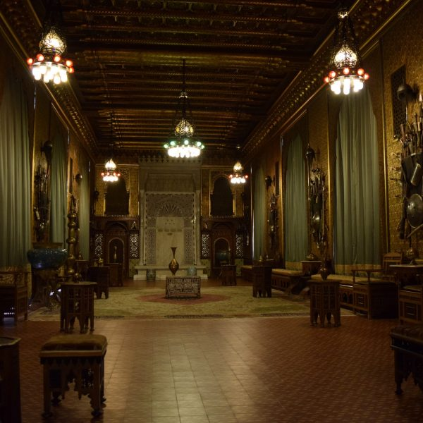 The Hispano-mauresque room of Peles castle.
