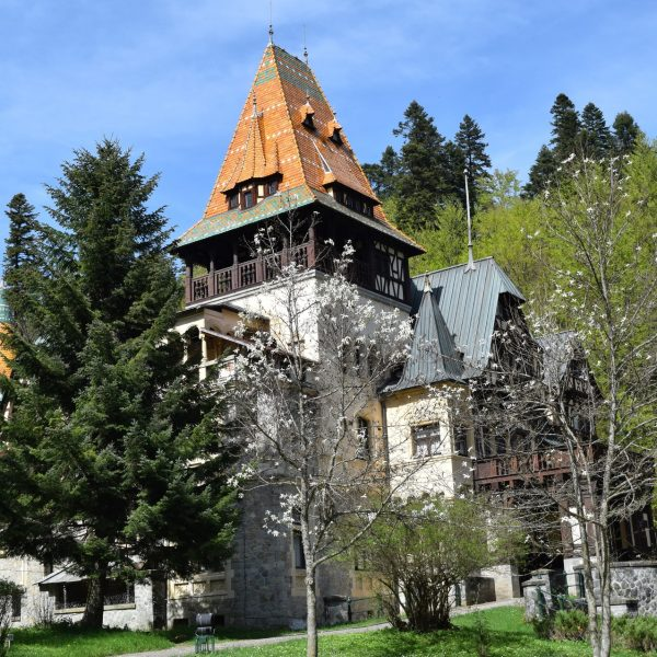 Pelisor castle, close from Peles castle.