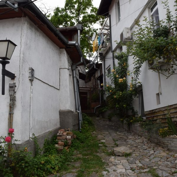Les petites ruelles de Veliko Tarnovo.
