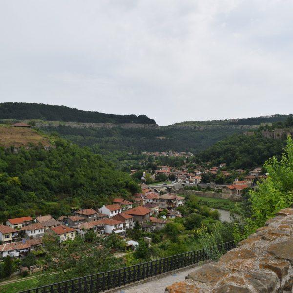 La citadelle Tzarevetz de Veliko Tarnovo.