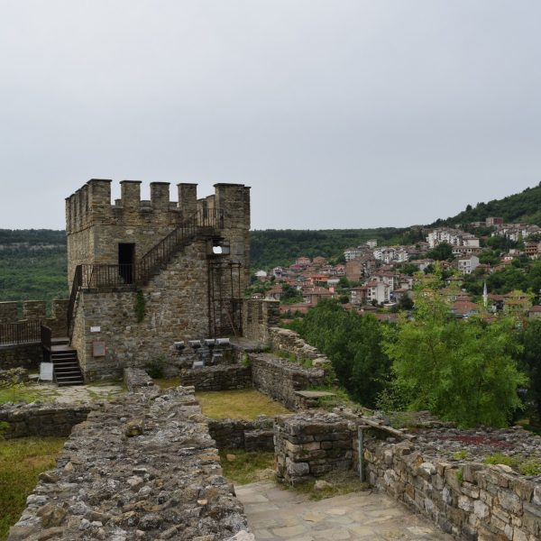 La tour de Baudouin dans la citadelle Tzarevetz de Veliko Tarnovo.