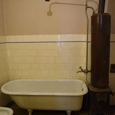 The shower in George Enescu 's house