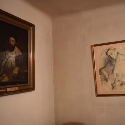 Some paintings in George Enescu 's house