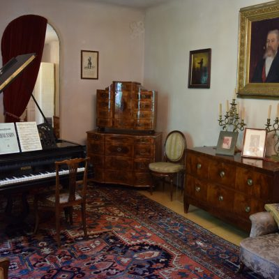 A room in George Enescu 's house