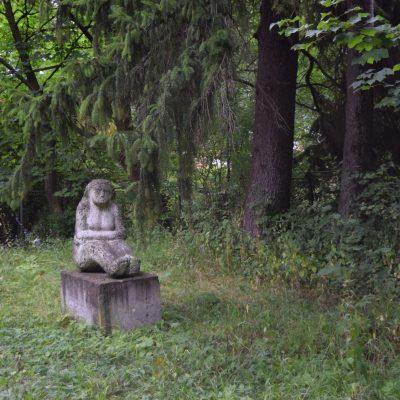 Le palais Szentkereszty et ses statues