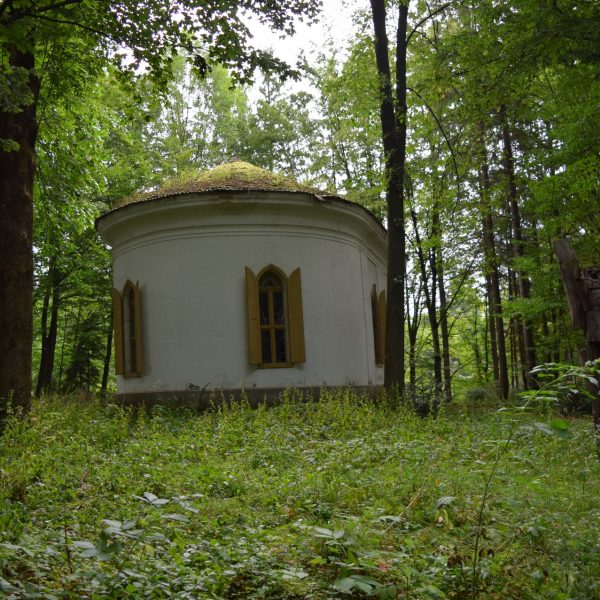 The chapel of Szentkereszty Palace